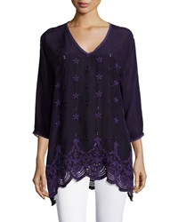 Johnny Was Jordee 3 4 Sleeve Georgette Tunic