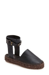 Free People 'Aurora' Ankle Strap Espadrille Women Black