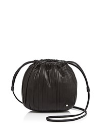 Halston Heritage Iconic Drawstring Small Crossbody Black