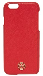 Tory Burch Robinson Hardshell Iphone 6 6S Case Wild Cherry