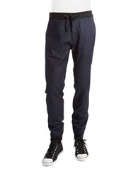 7 For All Mankind Denim Jogger Pants Indigo Rinse