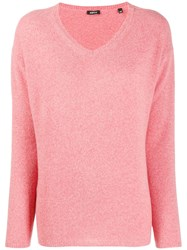 Aspesi V Neck Jumper Pink