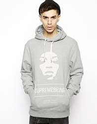 Supreme Being Supremebeing Iconoclast Hoodie Grey