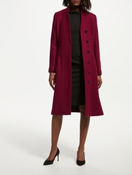 Bruce By Bruce Oldfield Funnel Coat Red