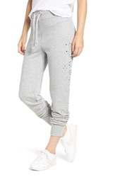 Wildfox Couture Jack Dolly Glitz Jogger Pants Heather
