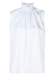 Adam By Adam Lippes Smocked Neck Top 60