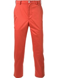 Loveless Classic Chinos Yellow And Orange