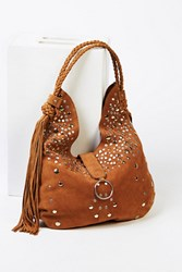Free People Womens Clyde Studded Hobo