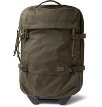 Filson Dryden Twill Carry On Suitcase Green