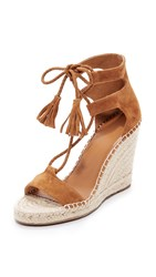 Joie Delilah Lace Up Sandals Whiskey