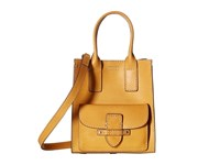 Frye Casey Mini North South Tote Yellow Tote Handbags