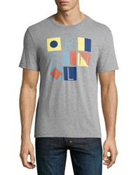 Penguin Original Flags Jersey Tee Gray