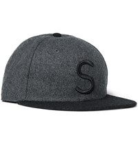 Saturdays Surf Nyc Rich Felt Baseball Cap Gray