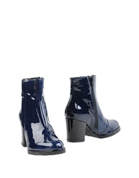Audley Ankle Boots Slate Blue