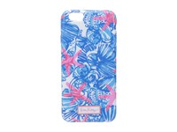 Lilly Pulitzer Iphone 6 Cover Bay Blue She She Shells Tech Cell Phone Case