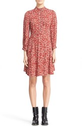 Belstaff Women's Orla Paisley Print Shirtdress