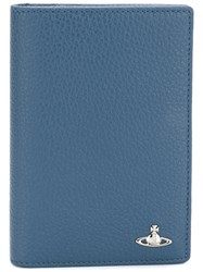 Vivienne Westwood Passport Holder Wallet Blue