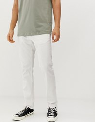 Esprit Slim Fit 5 Pocket Trouser In Cream