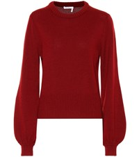 Chloe Cashmere Sweater Red