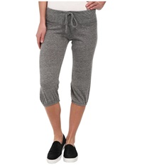 Alternative Apparel Eco Heather Crop Pant Eco Grey Women's Casual Pants Gray