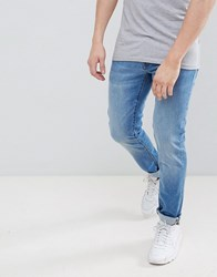 Voi Jeans Skinny Fit In Light Blue