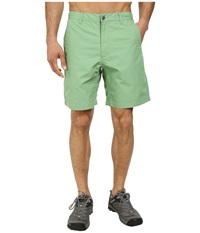 Mountain Khakis Poplin Short Mint Men's Shorts Green