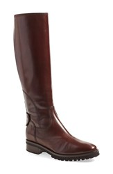 Anyi Lu 'Amber' Tall Boot Women Espresso Calf