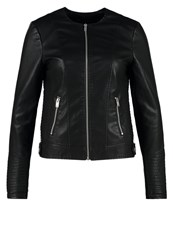 Dorothy Perkins Faux Leather Jacket Black