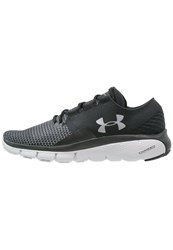 Under Armour Speedform Fortis 2 Cushioned Running Shoes Black Glacier Gray Metallic Silver