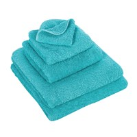 Abyss And Habidecor Super Pile Towel 370 Blue