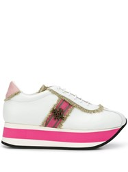Mr And Mrs Italy Platform Sneakers White