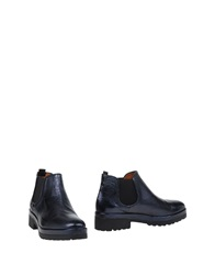 Pons Quintana Ankle Boots Dark Blue