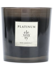 Eleventy Rose Grapefruit Candle Unisex Wax One Size Black
