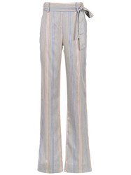 Olympiah Piaggia Wide Trousers Grey