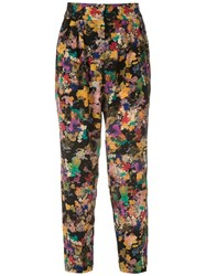 Andrea Marques Printed Tapered Trousers 60