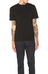 Our Legacy Cuffed Short Sleeve Brick Crepe Shirt In Black