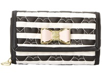 Betsey Johnson Be My Bow Wallet On A String Stripe Wallet Handbags Multi