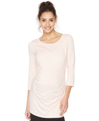 Motherhood Maternity Ruched Tunic