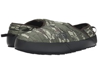 The North Face Thermoball Traction Mule Ii Tree Bark Camo Print Tnf Black Men's Slip On Shoes Blue