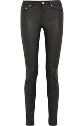 Blk Dnm Jeans 22 Coated High Rise Skinny Jeans
