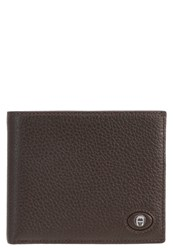 Aigner Wallet Ebony Dark Brown