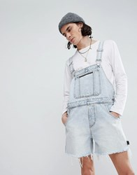 Cheap Monday Cred Short Overalls Blue