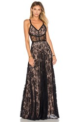 Alexis Isabella Gown Black