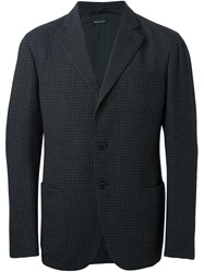 Giorgio Armani Two Button Blazer Grey