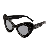 Jeremy Scott Cat Eyes Sunglasses