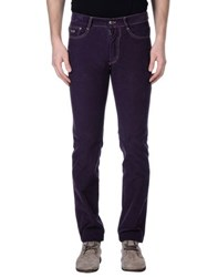 Harmontandblaine Trousers Casual Trousers Men Purple