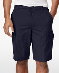 Club Room Men's Solid Rip Stop Shorts Only At Macy's Officer Navy