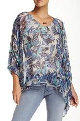 Luma Multicolor Printed Long Sleeve Blouse