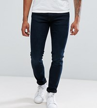 Jack And Jones Intelligence Jeans In Slim Fit In Super Stretch Blue