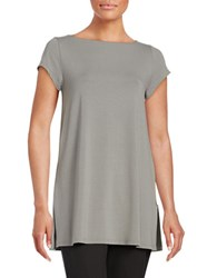 Eileen Fisher Boatneck Tunic Pewter